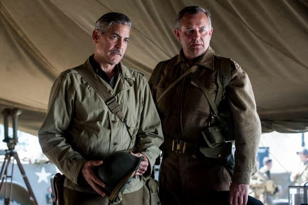 The Monuments Men George Clooney Hugh Bonneville