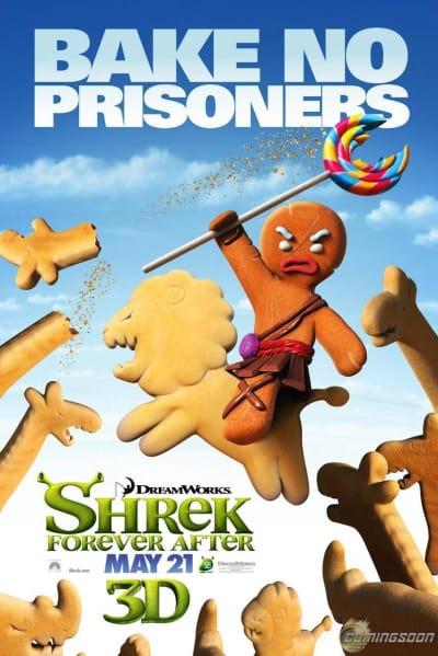Shrek Forever After Bake No Prisoners Poster