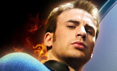 The Human Torch Becomes Captain America?