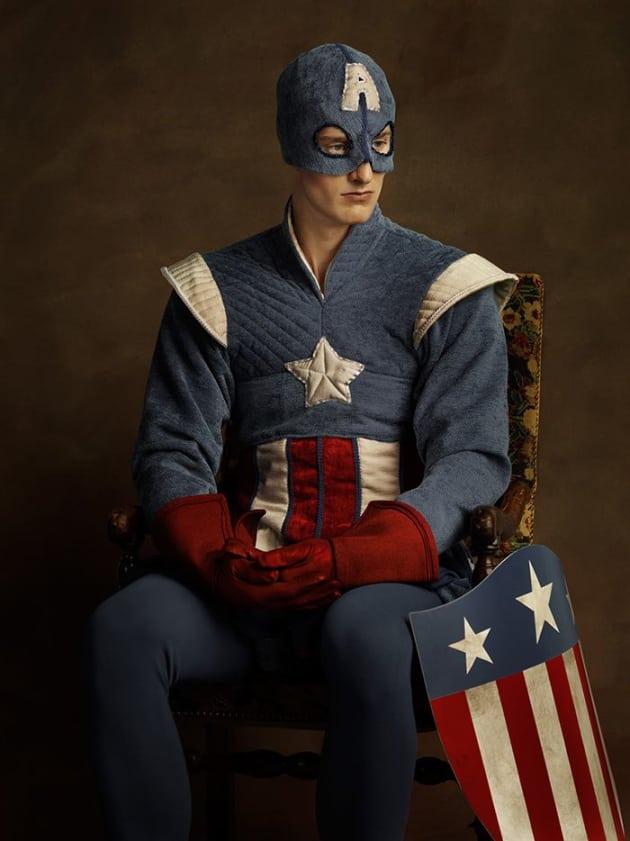 Captain America In Renaissance Times