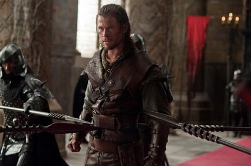 Snow White and the Huntsman Star Chris Hemsworth