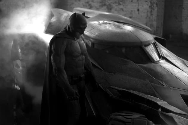 Batman vs. Superman Batsuit & Batmobile