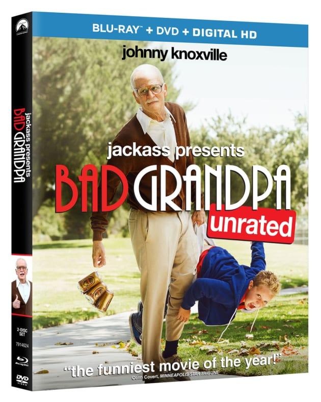 Bad Grandpa Blu-Ray