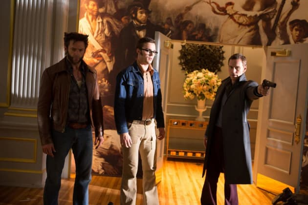 X-Men Days of Future Past Hugh Jackman Nicholas Hoult Michael Fassbender