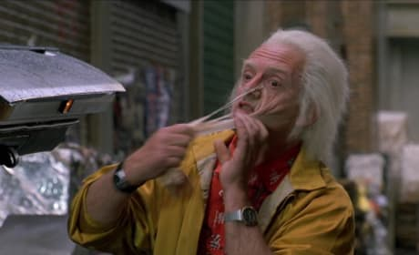 Back to the Future Part II Christopher Lloyd