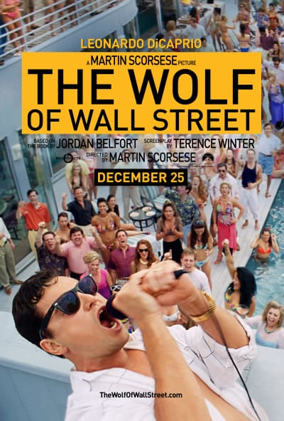 The Wolf of Wall Street Leonardo DiCaprio Character Poster