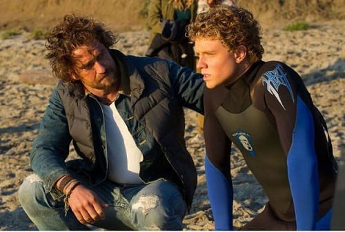 Gerard Butler and Jonny Weston Chasing Mavericks