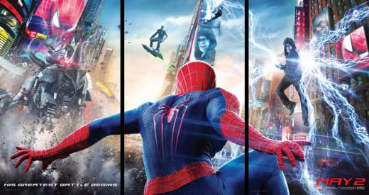 The Amazing Spider-Man 2 Triptych Poster