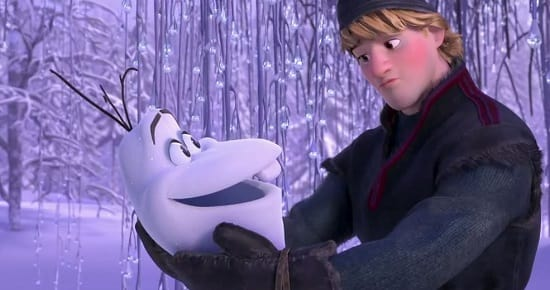Frozen Olaf and Kristoff