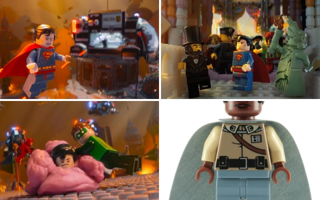 The lego movie superman photo