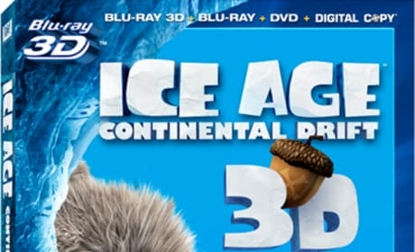 Ice Age Continental Drift Blu-Ray