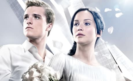 Catching Fire Jennifer Lawrence Josh Hutcherson