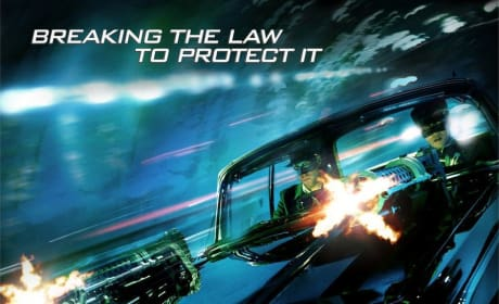 Britt Reid and Kato Zoom into Action on the New Green Hornet Poster!