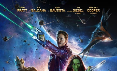 Guardians of the Galaxy Poster: Ready for a Fight!