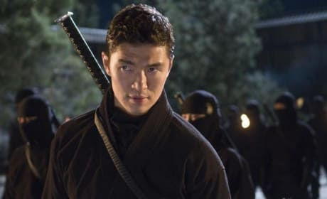 Rick Yune is a ninja