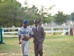 Chadwick Boseman Andre Holland 42