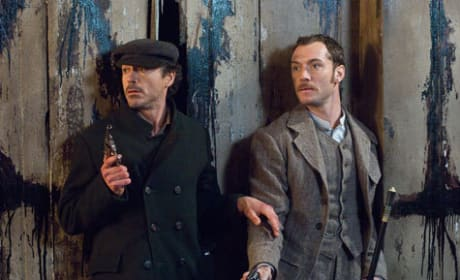 The Latest Sherlock Holmes Movie Still
