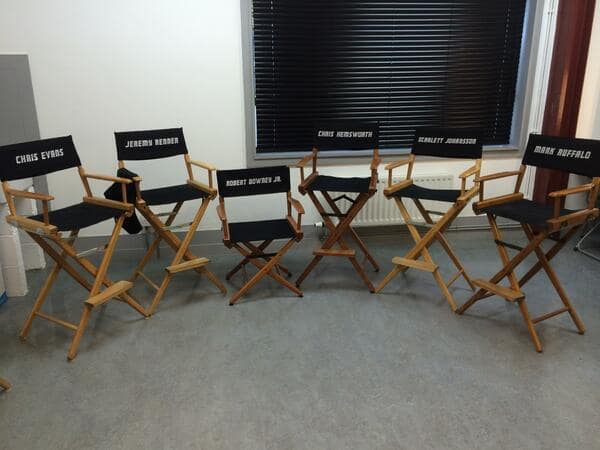 The Avengers: Age of Ultron Cast (Chairs)