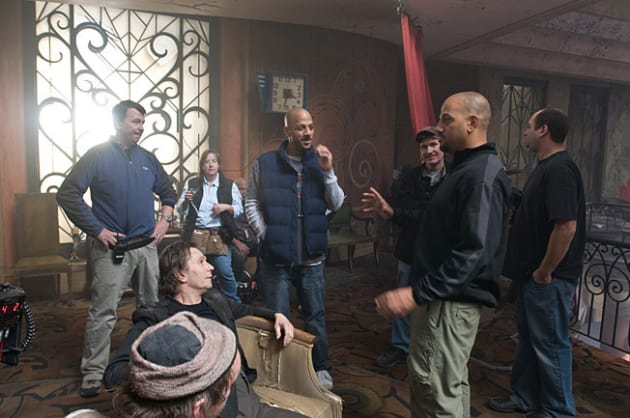Discussing a Scene with Gary Oldman