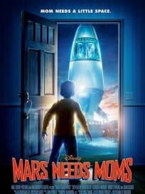 Mars Needs Moms Teaser Poster