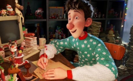 James McAvoy is Arthur Christmas