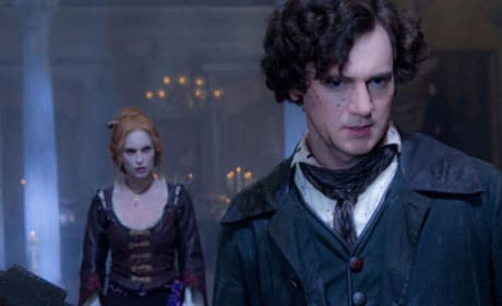 Erin Watson and Benjamin Walker in Abraham Lincoln: Vampire Hunter