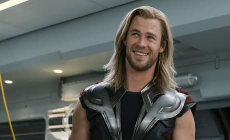 Chris Hemsworth in The Avengers