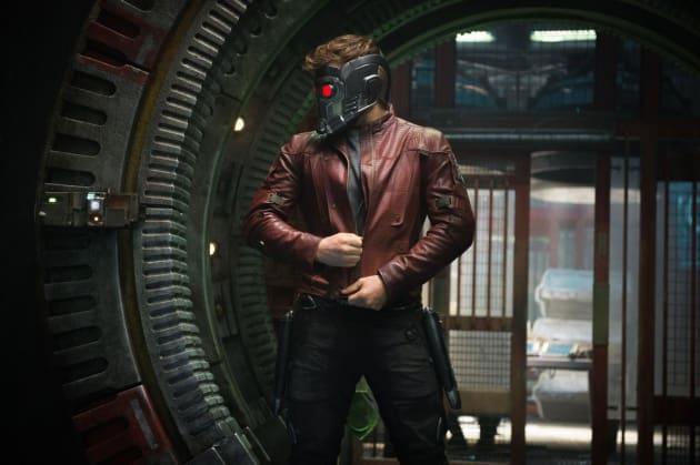 Chris Pratt Star Lord Guardians of the Galaxy