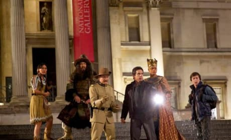 Night at the Museum: Secret of the Tomb Cast