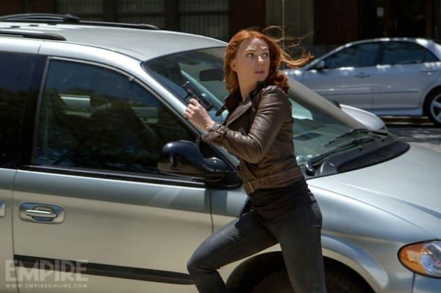 Captain America: Winter Soldier Scarlett Johansson