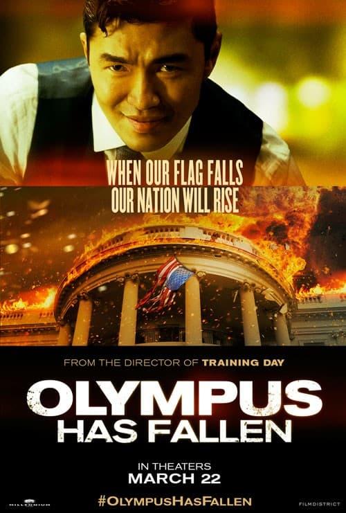 Rick Yune Olympus Has Fallen Poster