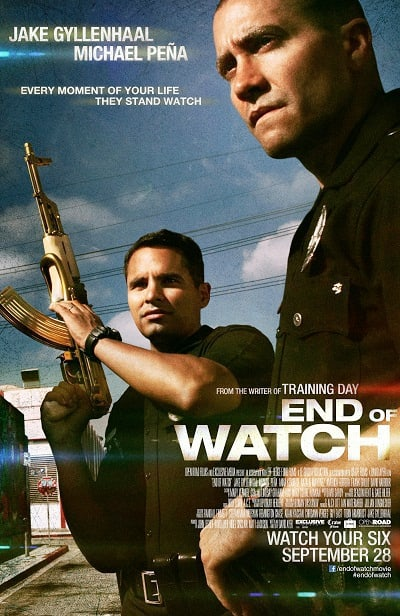 End of Watch Full Poster