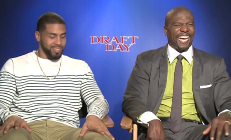 "Draft Day Exclusive: Terry Crews Talks Football Movie That's ""Deep"""