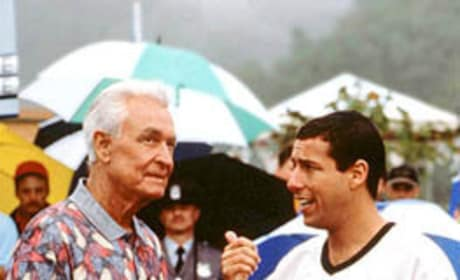 Happy Gilmore and Bob Barker