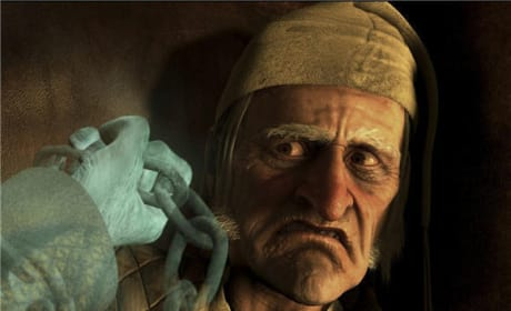 Jim Carrey as Ebenezer Scrooge!