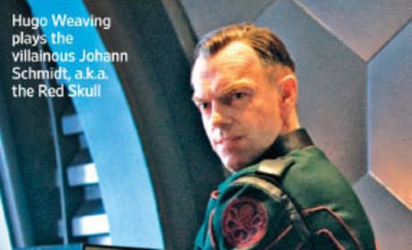 Hugo Weaving as Johann Schmidt