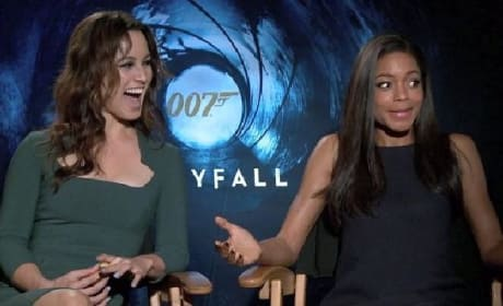 Skyfall: Visiting Bond Girls Naomie Harris & Berenice Marlohe
