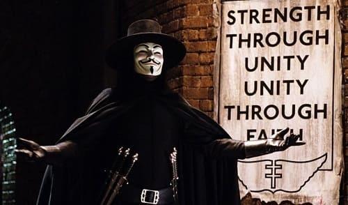 Hugo Weaving V for Vendetta