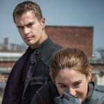 Theo James Shailene Woodley Divergent