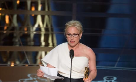 Patricia Arquette Wins Oscar Best Supporting Actress