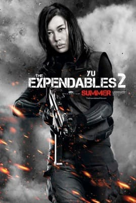 The Expendables 2 Character Poster: Yu