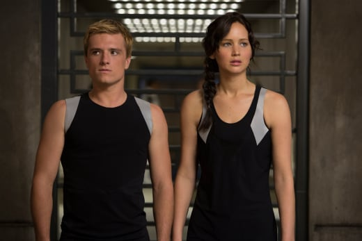 Peeta and Katniss Catching Fire