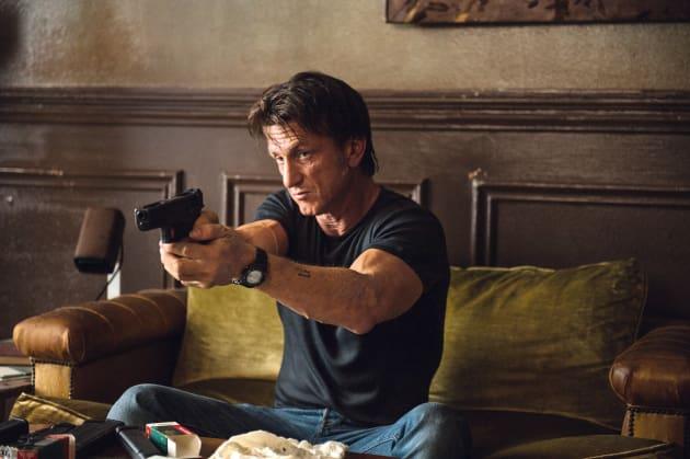 Sean Penn Tackles Action!