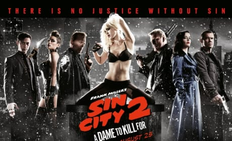 Sin City: A Dame to Kill For Quad Poster