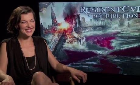 Milla Jovovich Talks Her Resident Evil Retribution Rebel