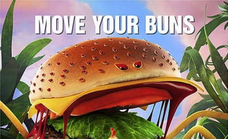 Cloudy with a Chance of Meatballs 2 Move Your Buns Poster