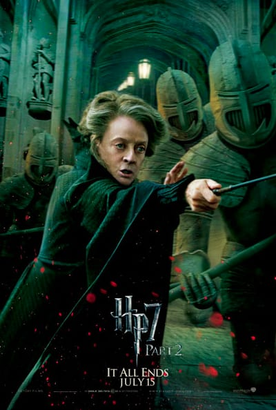 McGonagall Fights Hard