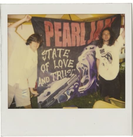 Cameron Crowe and Eddie Vedder in Pearl Jam 20