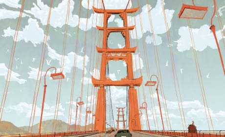 Big Hero 6 San Fransokyo Bridge