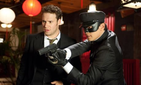 First Photos of Seth Rogen as The Green Hornet!